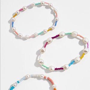 Baublebar beaded bracelet set